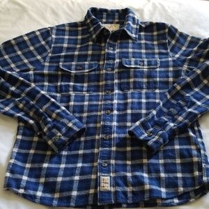 Mens Abercrombie & Fitch flannel button shirt, XL